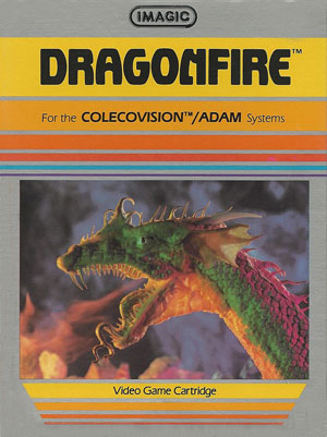Dragonfire for Colecovision Box Art