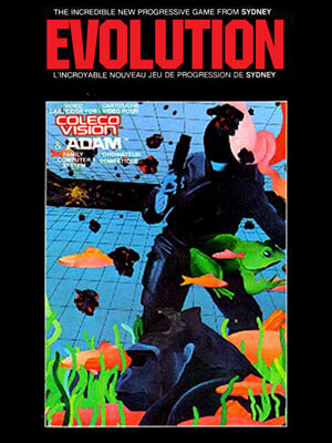 Evolution for Colecovision Box Art