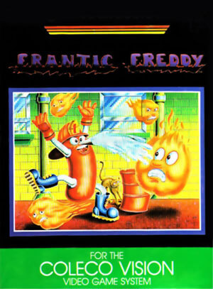 Frantic Freddy for Colecovision Box Art