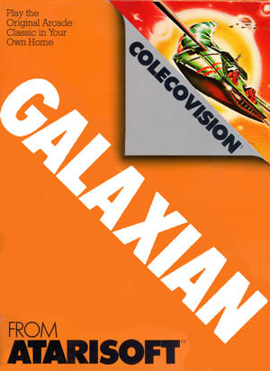 Galaxian for Colecovision Box Art