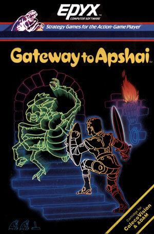 Gateway to Apshai for Colecovision Box Art