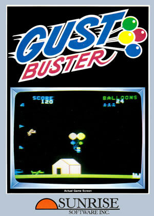Gust Buster for Colecovision Box Art