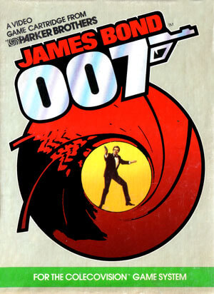 James Bond 007 for Colecovision Box Art