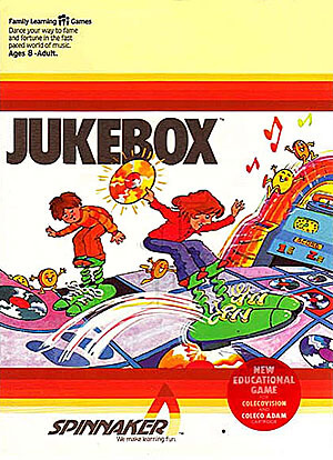 Jukebox for Colecovision Box Art