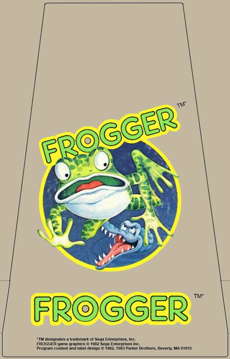 Frogger Label