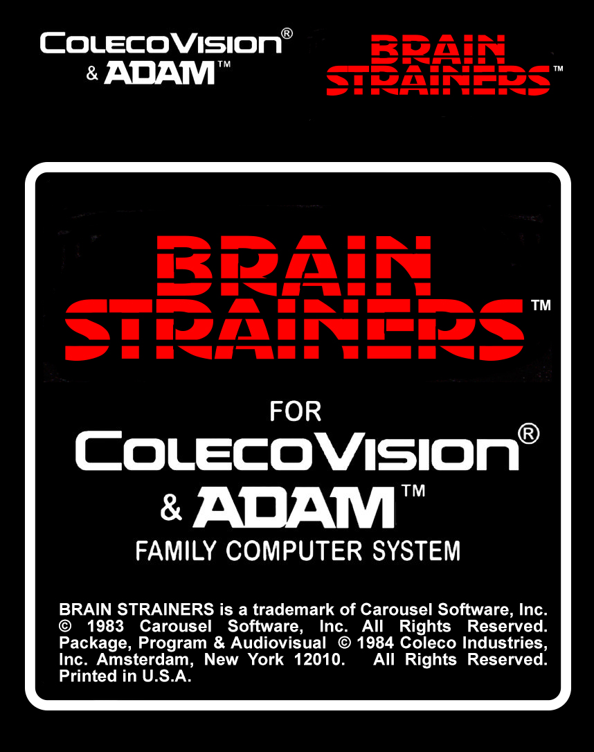 Brain Strainers Label