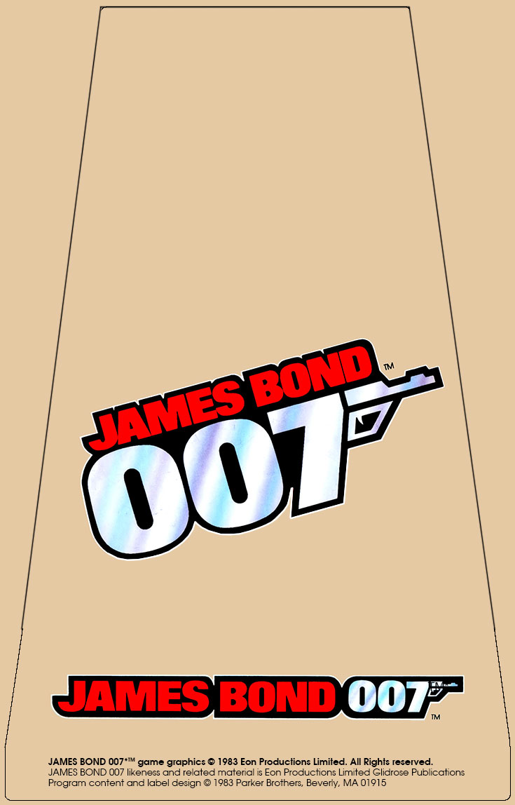 James Bond 007 Label